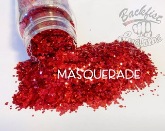 MASQUERADE || Opaque Chunky Glitter, Solvent Resistant