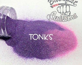 TONKS    Heat Activated Glitter changes from Purple to Pink