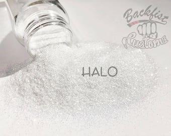 HALO || Transparent Fine Glitter, Solvent Resistant