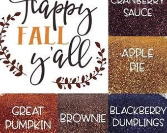 HAPPY FALL YALL Glitter Package || 5oz Total