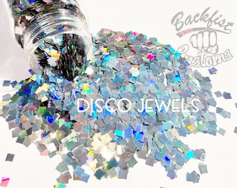 DISCO JEWEL || Opaque Chunky Glitter