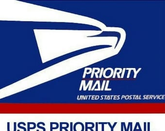 UPGRADE to PRIORITY SHIPPING    1 - 3 day delivery from time of shipping