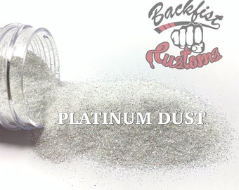 PLATINUM DUST ||  Fine Glitter, Diamond Dust Replacement