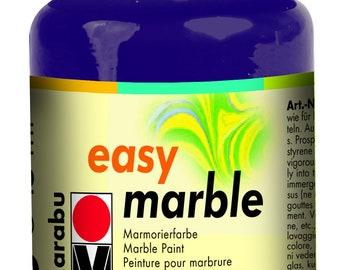 Aubergine || MARABU Easy MARBLE PAINT