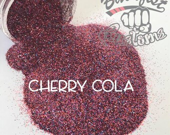 CHERRY COLA || Opaque Fine Glitter, Solvent Resistant