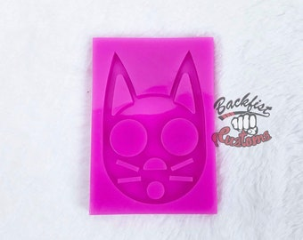 DEFENSE CAT KNUCKLE 2.5IN X 3.5IN  Mold  || Silicone mold for novelty and self defense purposes only