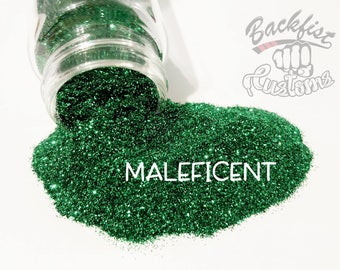 MALEFICENT || Opaque Fine Glitter, Solvent Resistant