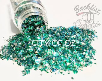 CITY OF OZ || Opaque Chunky Glitter Mix, Solvent Resistant