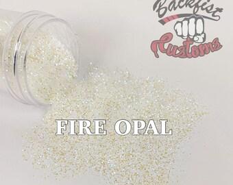 FIRE OPAL || Opal Glitter   Solvent Resistant