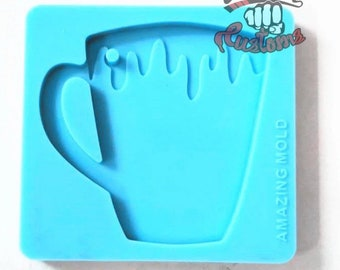 DRIPPY CUP Keychain mold    1 Silicone mold