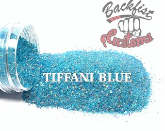 TIFFANI BLUE  || Exclusive Fine Glitter, Solvent Resistant