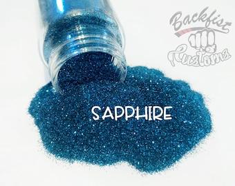 SAPPHIRE || Opaque Fine Glitter, Solvent Resistant