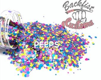 PEEPS DOTS || Multi Shaped  Glitter Dots