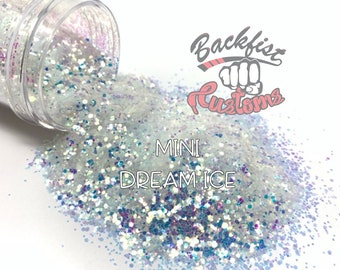 MINI DREAM ICE  || Solvent Resistant, Chunky Mix Glitter