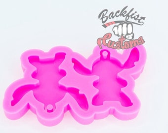 SMALL ALIEN EARRING mold || 1 pair of Silicone molds
