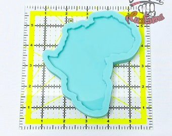 CUSTOM AFRICA COASTER Mold 4in x 5in || Made to Order