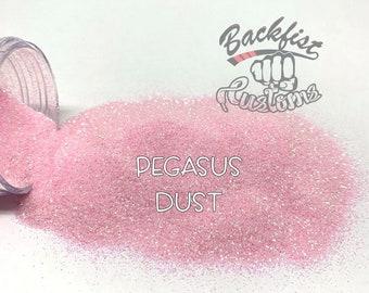 PEGASUS DUST || Transparent Fine Glitter, Solvent Resistant