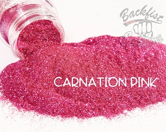 CARNATION PINK || Opaque Micro Fine Glitter