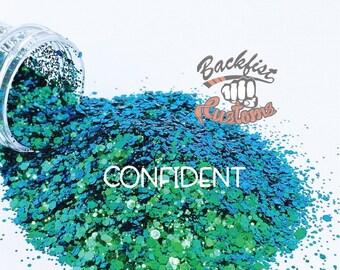 CONFIDENT || color shifting Glitter