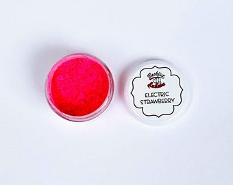 ELECTRIC STRAWBERRY Mica Powder  || 5 gram by weight