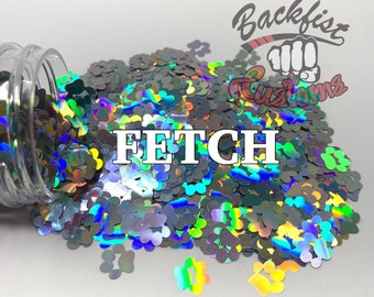 FETCH || Paw Print Shaped Glitter