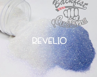 REVELIO || UV Activated Glitter changes from White to Violet