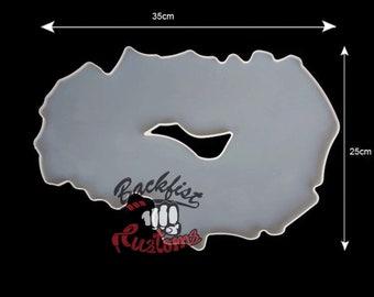 LARGE IRREGULAR GEODE Mold || 1 Silicone mold