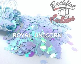 ROYAL UNICORN    Unicorn Head Shaped Chunky Glitter, Solvent Resistant