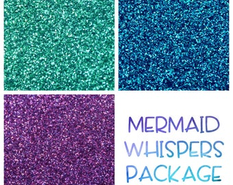 Mermaid Whispers Themed Glitter Package