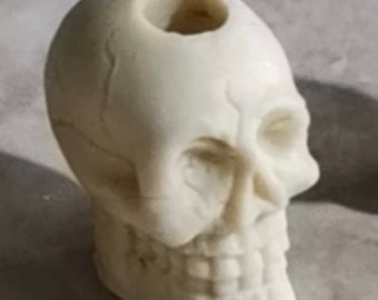 SKULL STRAW TOPPER Silicone mold || This Skull will be a hit for the men and boys