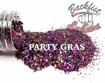 PARTY GRAS || Chunky Glitter