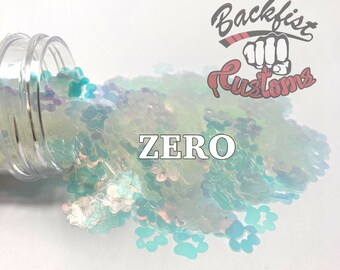 ZERO || Paw Print Shaped Glitter