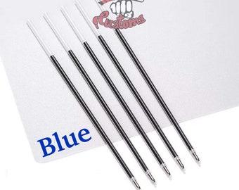 BLUE INK Pen Kit REFILLS includes 20 Inks