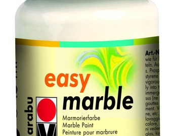 Crystal Clear || MARABU Easy MARBLE PAINT