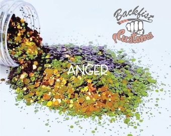 Anger    color shifting Glitter