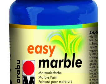 Dark Ultramarine || MARABU Easy MARBLE PAINT