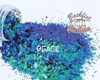 PEACE || color shifting Glitter