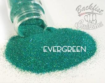 EVERGREEN || Opaque Fine Glitter, Solvent Resistant