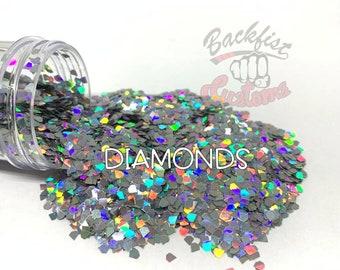 Diamonds  || Diamond shaped  Glitter