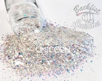 UNICORN    Solvent Resistant, Cosmetic Glitter