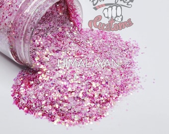 HIMALAYAN     Chunky Mixed Glitter, Solvent Resistant