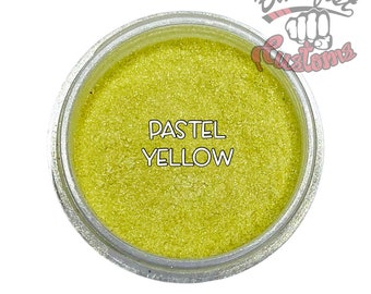 Pastel Yellow Mica Powder  || 5 gram by weight