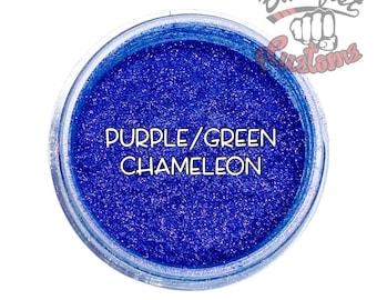 Purple/Green Chameleon Mica Powder  || 5 gram by weight
