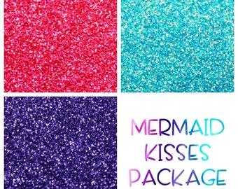 Themed Glitter Packages || Beach, Galaxy, 2 Mermaids, Pencil, 2 Unicorns