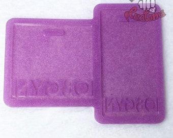 CUSTOM OBGYN Medical Badge Backing 3in x 3in, 2.25in x 4.25in