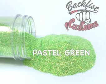 PASTEL GREEN ||  Fine Glitter, Solvent Resistant