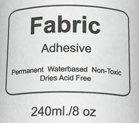 Non-Fabric Glitter Adhesive Shipping may be delayed due to cold weather
