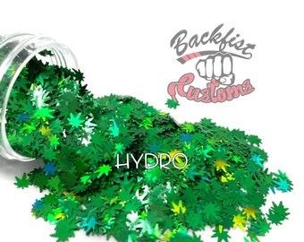 HYDRO     BFC Exclusive Marijuana Shaped Glitter