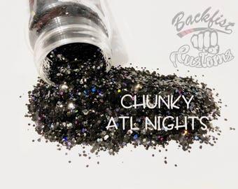 CHUNKY ATLANTA NIGHTS || Opaque Custom Chunky Glitter Mix