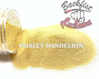 PAISLEY DANDELION || Opaque Fine Glitter